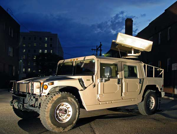 The modified Humvee